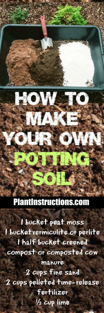 Homemade Potting Soil
