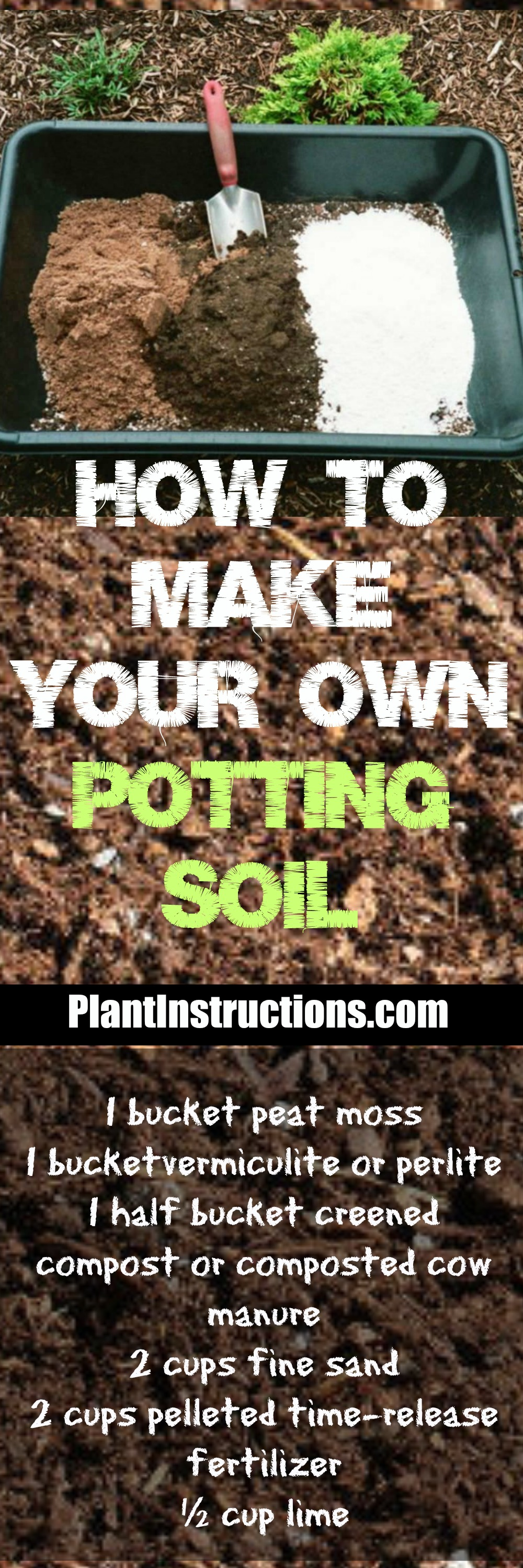 Learn how to make your own potting soil with this DIY potting soil recipe! All you need are a few ingredients and you\'ll have the most robust garden around!