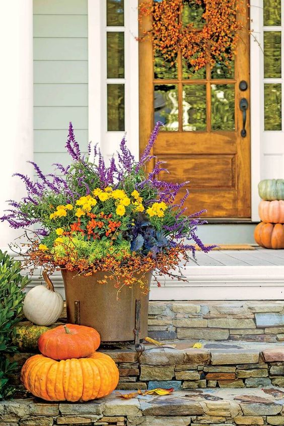 fall container ideas 2