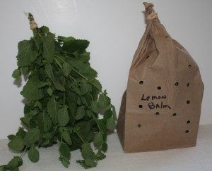 air dried herbs